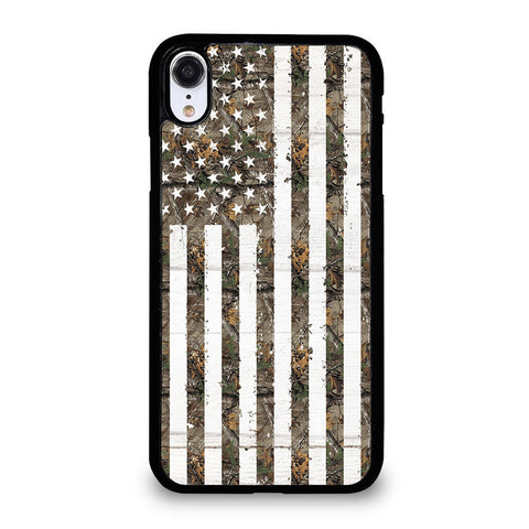 REALTREE CAMO FLAG iPhone XR Case