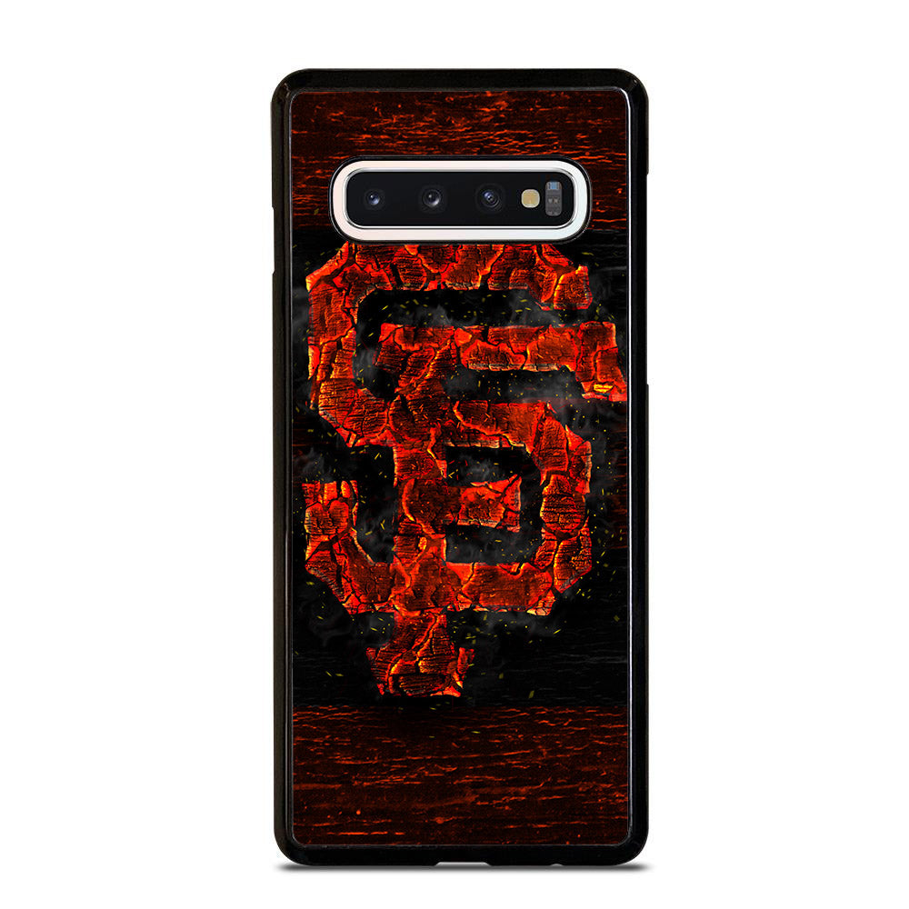 SAN FRANCISCO GIANTS ICON WOOD Samsung Galaxy S10 Case