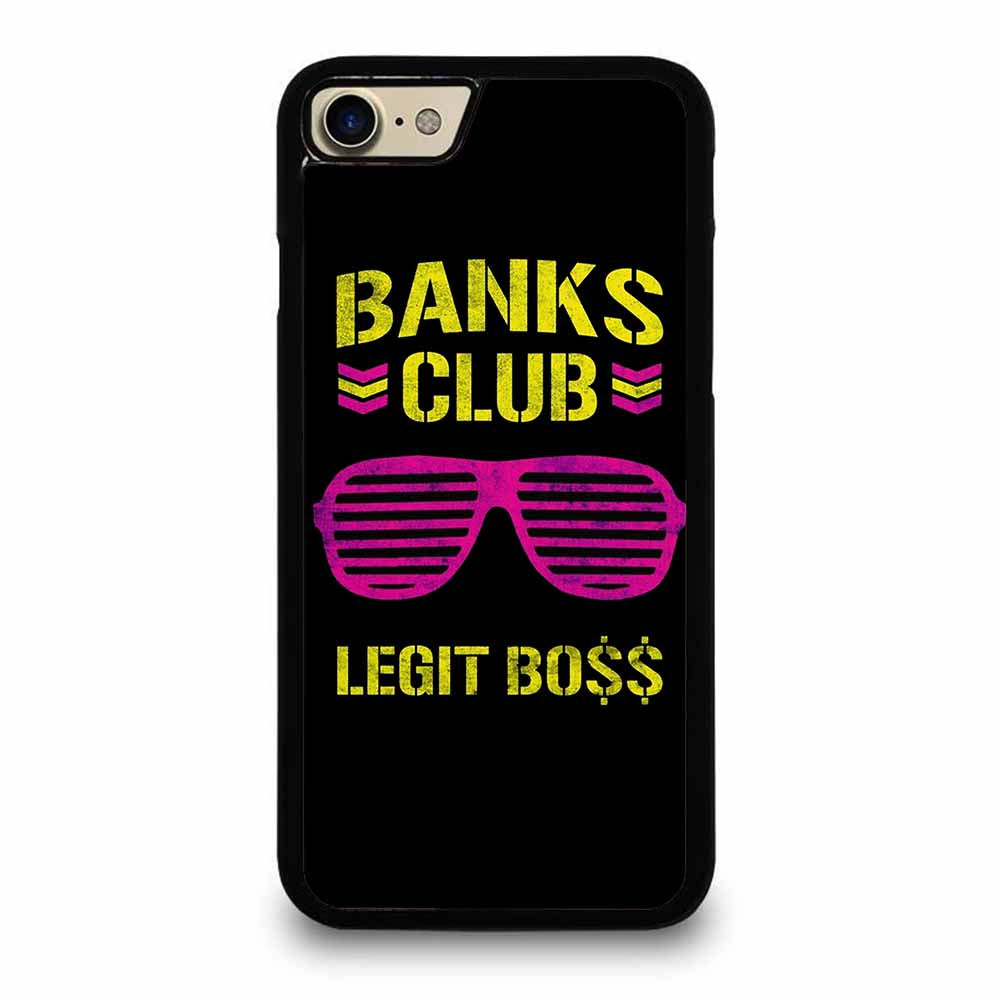SASHA BANKS PINK YELLOW iPhone 7 / 8 case