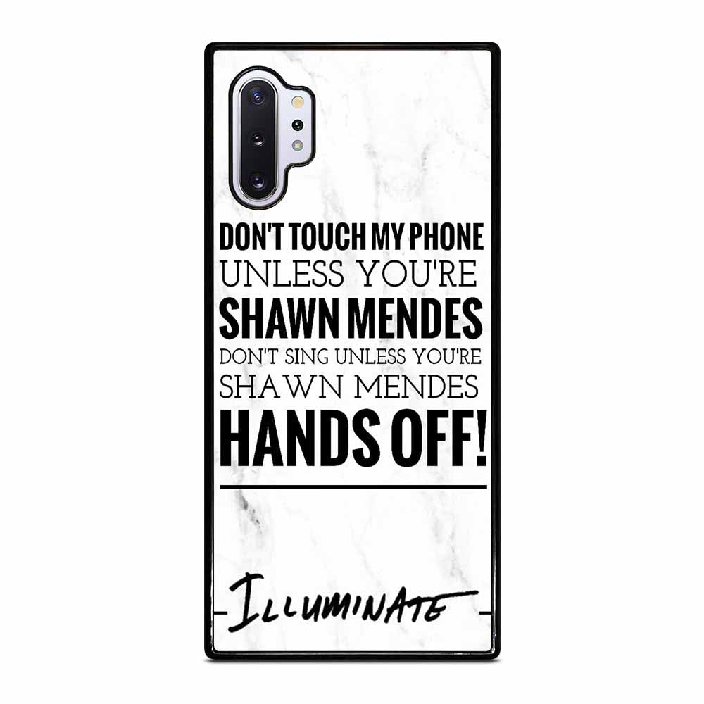 SHAWN MENDES ILLUMINATE Samsung Galaxy Note 10 Plus case
