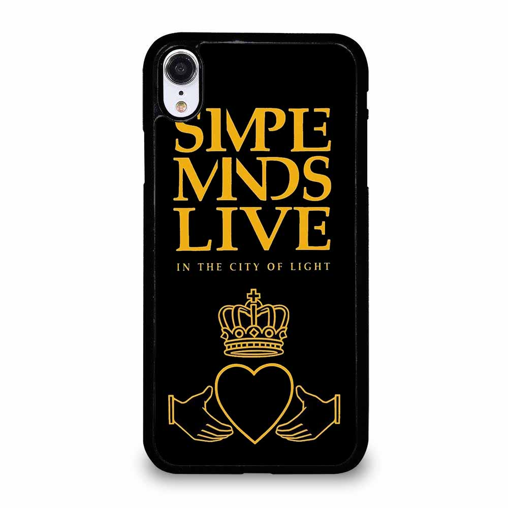 SIMPLE MIND ROCK BAND iPhone XR Case