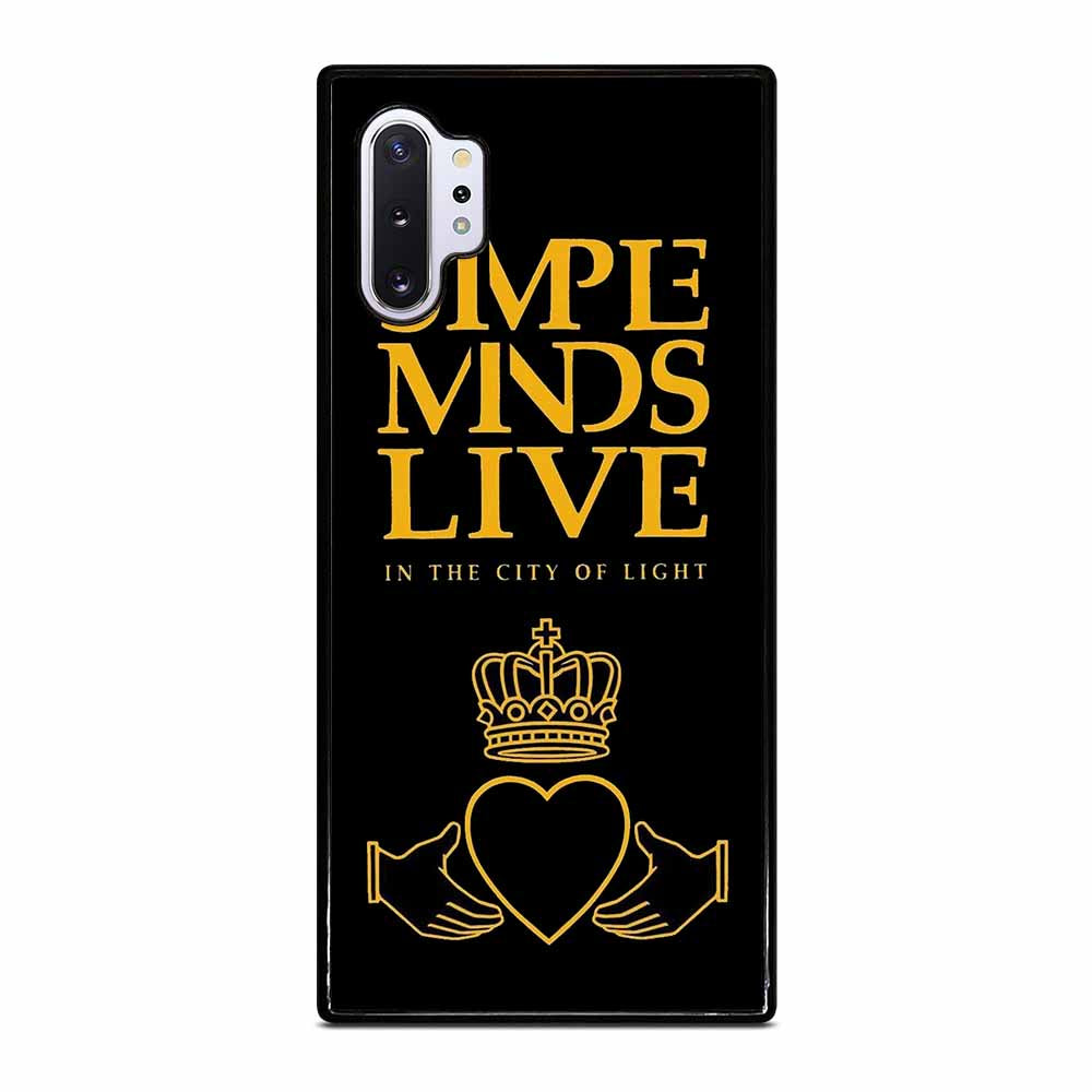 SIMPLE MIND ROCK BAND Samsung Galaxy Note 10 Plus case