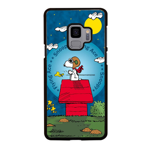 SNOOPY THE FLYING ACE Samsung Galaxy S9 case