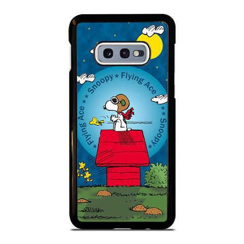 SNOOPY THE FLYING ACE Samsung Galaxy S10E case