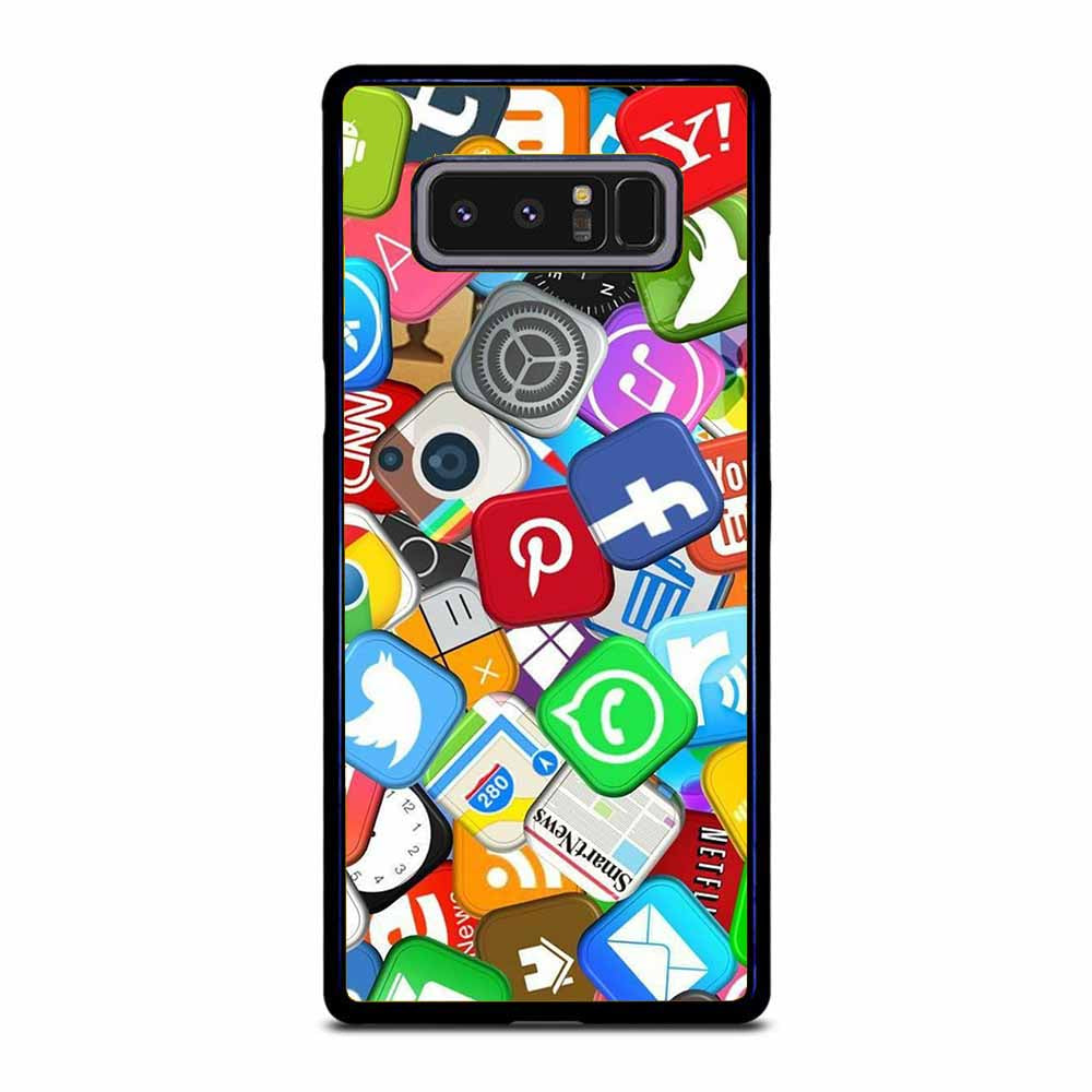 SOCIAL MEDIA APPLICATIONS Samsung Galaxy Note 8 case