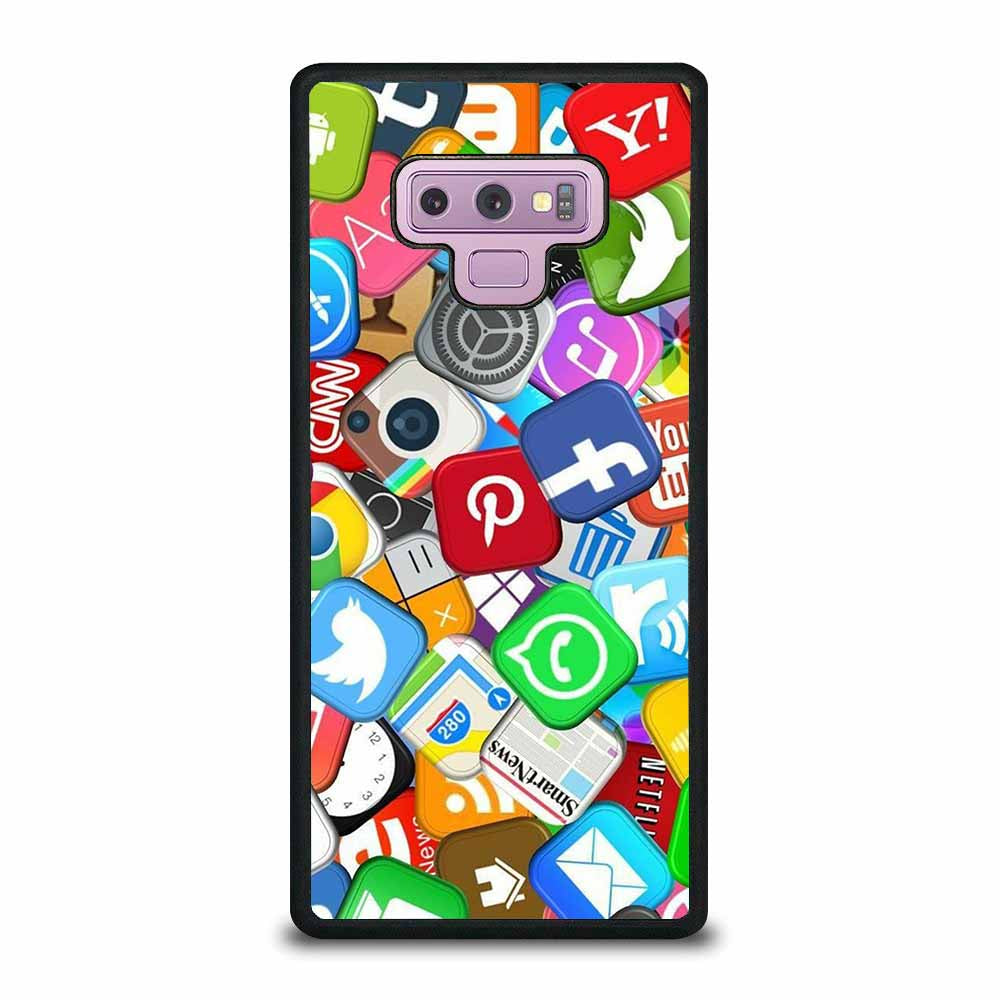 SOCIAL MEDIA APPLICATIONS Samsung Galaxy Note 9 case