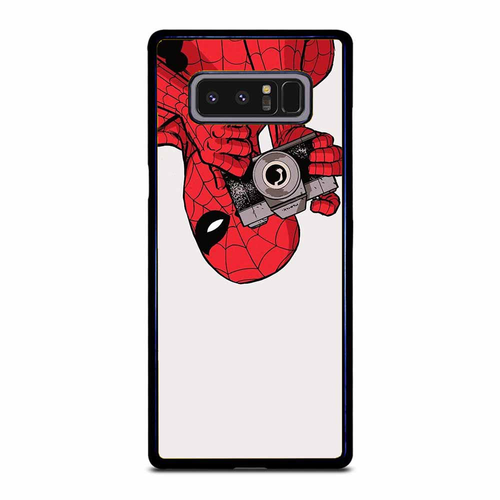 SPIDER MAN PHOTOGRAPHER Samsung Galaxy Note 8 case