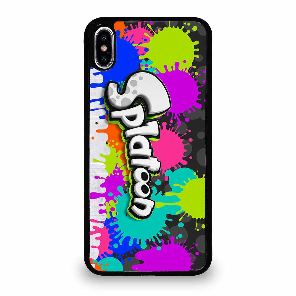 SPLATOON LOGO iPhone XS Max Case