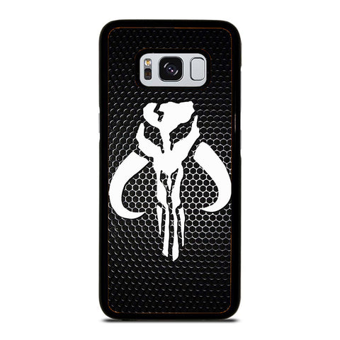 STAR WARS MANDALORIAN LOGO CARBON Samsung Galaxy S8 case