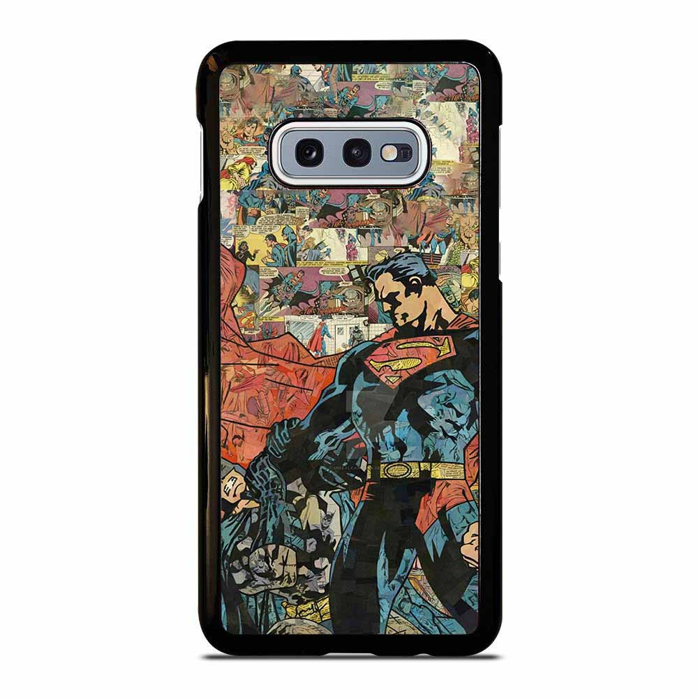 SUPERMAN VS BATMAN COMIC Samsung Galaxy S10E case