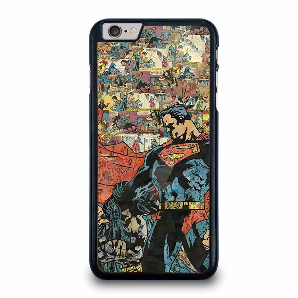 SUPERMAN VS BATMAN COMIC iPhone 6 / 6S Plus case