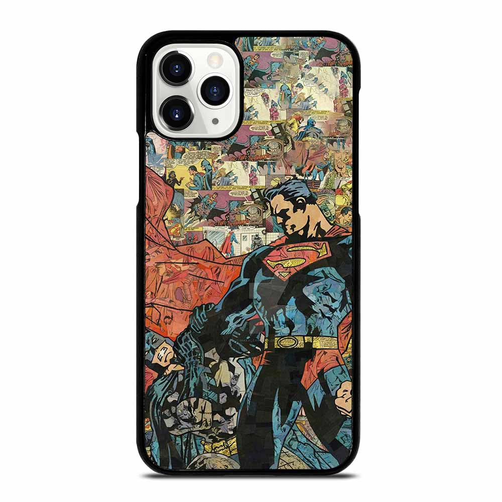 SUPERMAN VS BATMAN COMIC iPhone 11 Pro Case