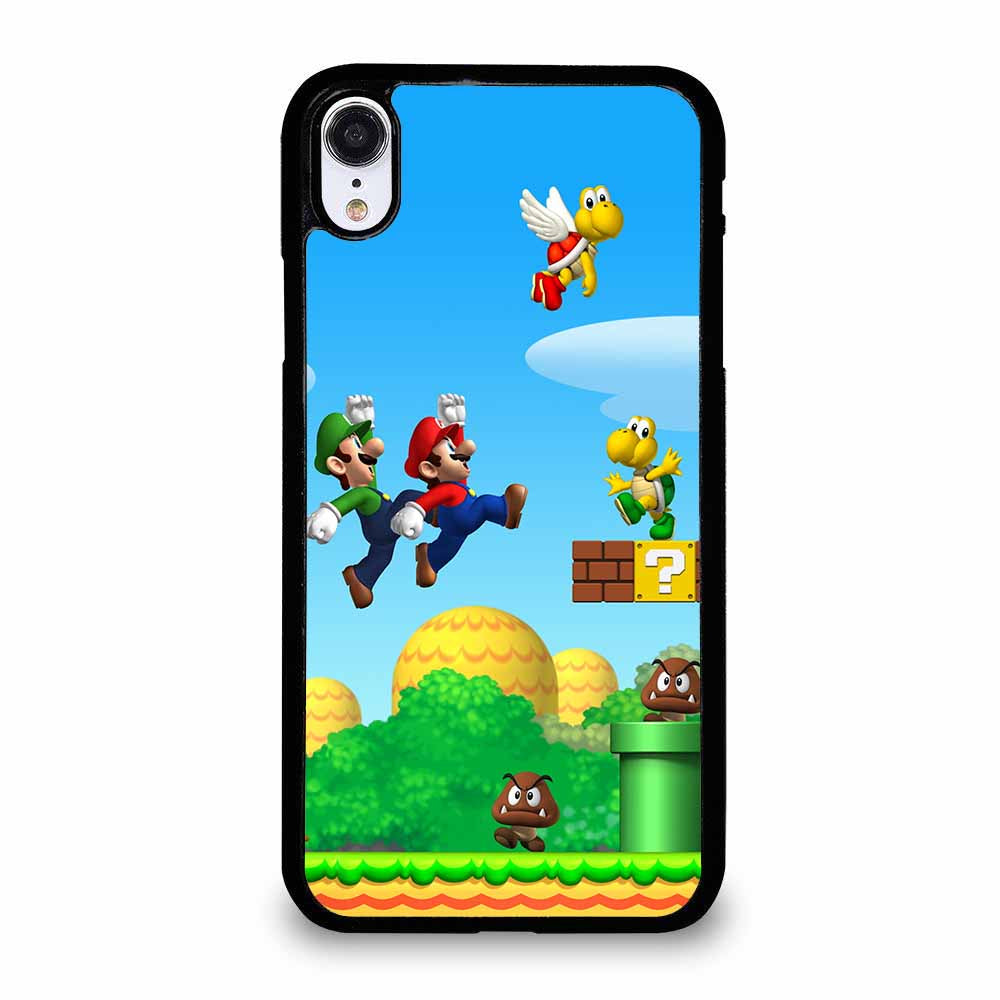 SUPER MARIO YOSHI LAND iPhone XR Case
