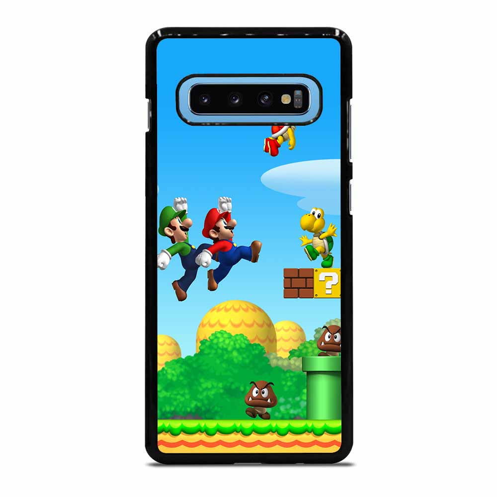 SUPER MARIO YOSHI LAND Samsung Galaxy S10 Plus case