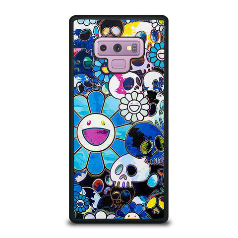 TAKASHI MURAKAMI FLOWERS ART BLUE Samsung Galaxy Note 9 case