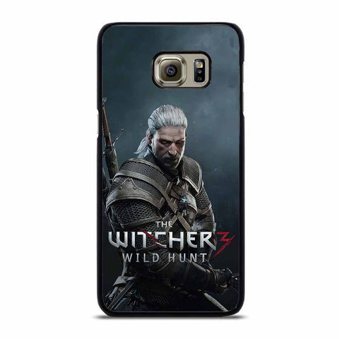 THE WITCHER WILD HUNT POSTER Samsung Galaxy S6 Edge case