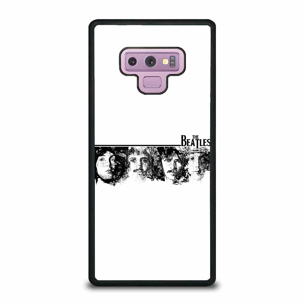 THE BEATLES BLACK AND WHITE Samsung Galaxy Note 9 case