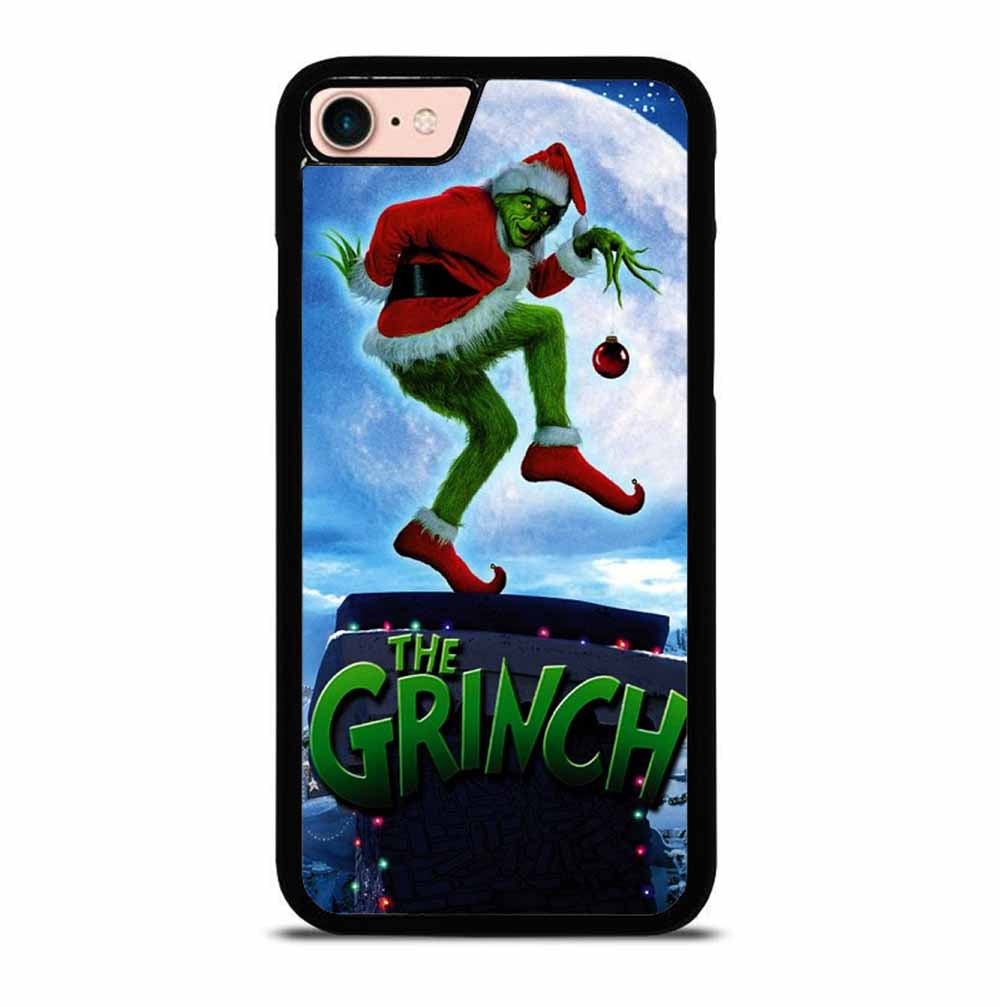 THE GRINCH MOON IN SNOW CARTOON iPhone 7 / 8 case