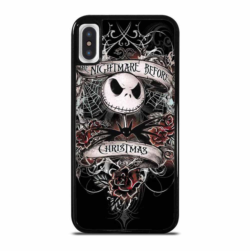 THE NIGHTMERE BEFORE CHRISTMAS LOGO iPhone X / XS Case