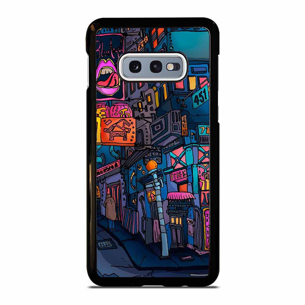 THE NIGHT CITY CARTOON Samsung Galaxy S10E case