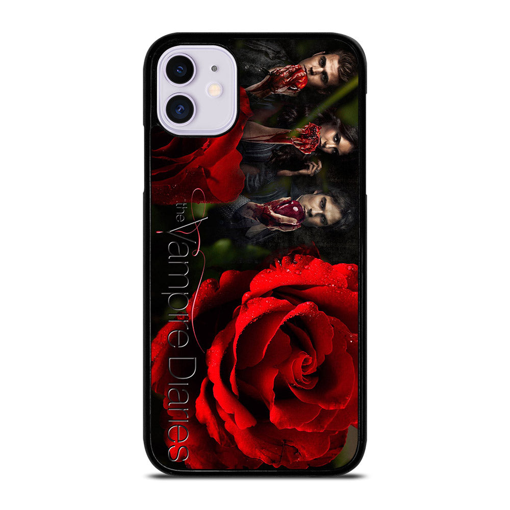 THE VAMPIRE DIARIES FLOWERS iPhone 11 Case