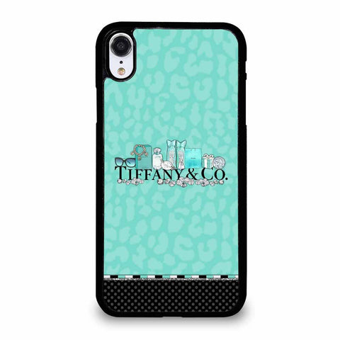 TIFFANY & CO BLACK BLUE iPhone XR Case
