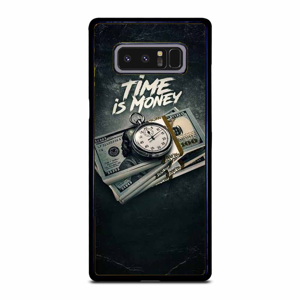 TIME IS MONEY Samsung Galaxy Note 8 case