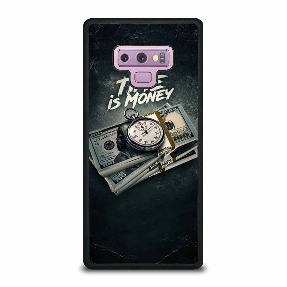 TIME IS MONEY Samsung Galaxy Note 9 case