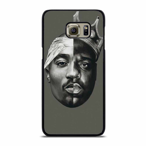 TUPAC AND NOTORIOUS BIG ART Samsung Galaxy S6 Edge case