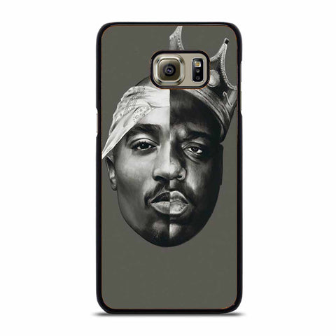 TUPAC AND NOTORIOUS BIG ART Samsung Galaxy S6 Edge Plus case
