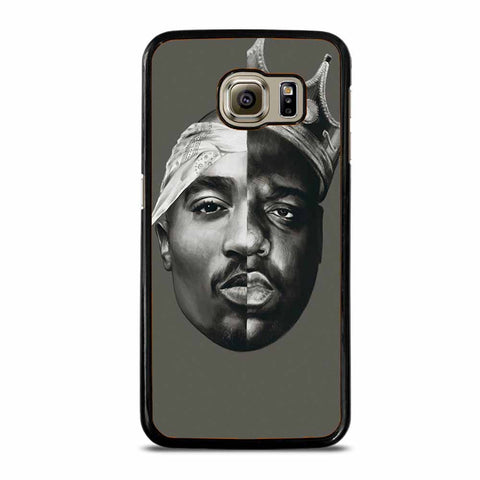 TUPAC AND NOTORIOUS BIG ART Samsung Galaxy S6 case