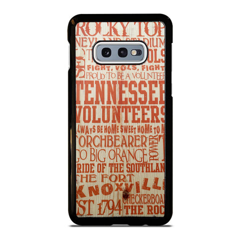 UNIVERSITY OF TENNESSEE UT VOLS QUWOTES Samsung Galaxy S10E case