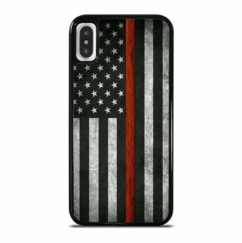 USA FLAG MONOCHROME iPhone X / XS Case