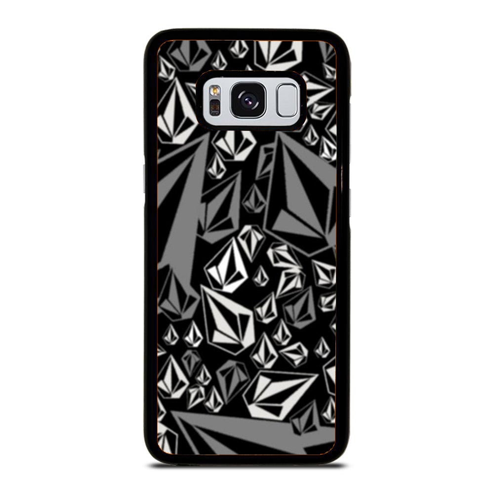 VOLCOM LOGO BLACK AND WHITE Samsung Galaxy S8 case