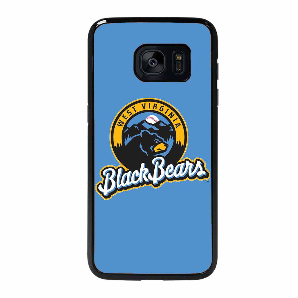 WEST VIRGINIA BLACK BEARS LOGO BLUE Samsung Galaxy S7 Edge case