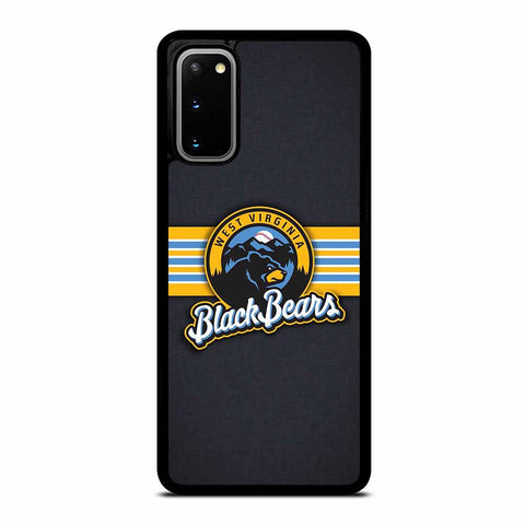WEST VIRGINIA BLACK BEARS LOGO SAMSUNG GALAXY S20 CASE