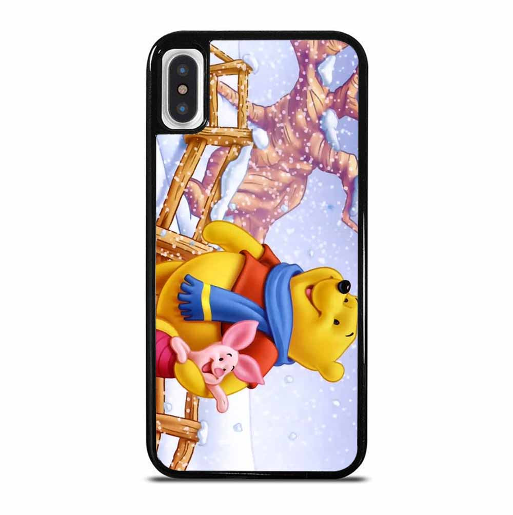 WINNE THE POOH WINTER iPhone X / XS Case