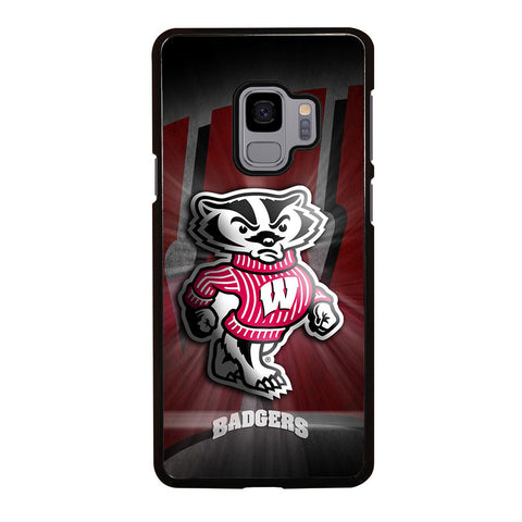 WISCONSIN BADGER LOGO Samsung Galaxy S9 case