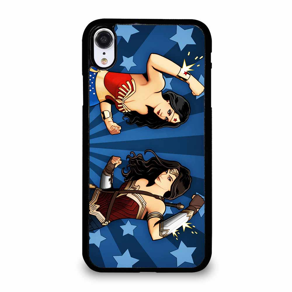 WONDER WOMAN LYNDA CARTER & GAL GADOT iPhone XR Case