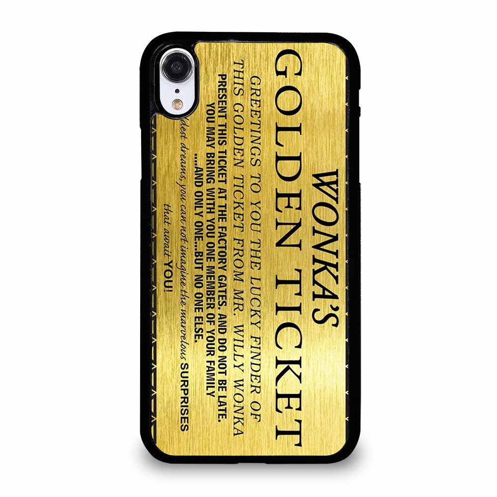 WONKA GOLDEN TICKET iPhone XR Case
