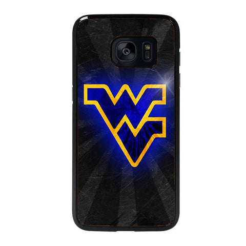 WV BLACK BEARS ICON LIGHT Samsung Galaxy S7 Edge case