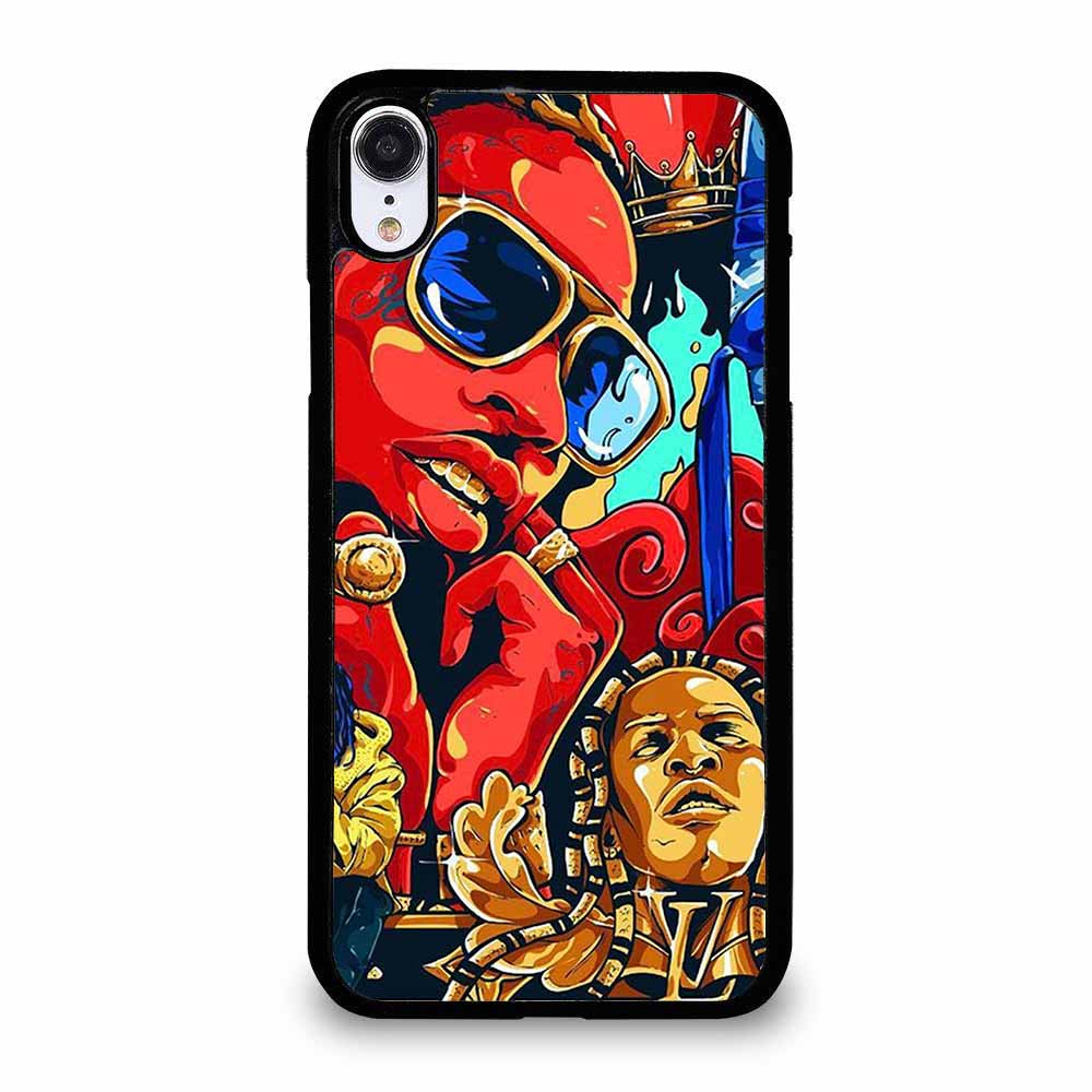 YOUNG THUG SLATT ART iPhone XR Case