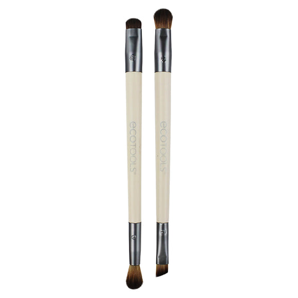 EcoTools Ultimate Shade Duo Eye Shadow Brush Set - The Golden Galleria