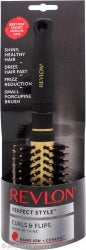 Revlon Perfect Style Large Round Vented Hair Brush Gold - The Golden Galleria