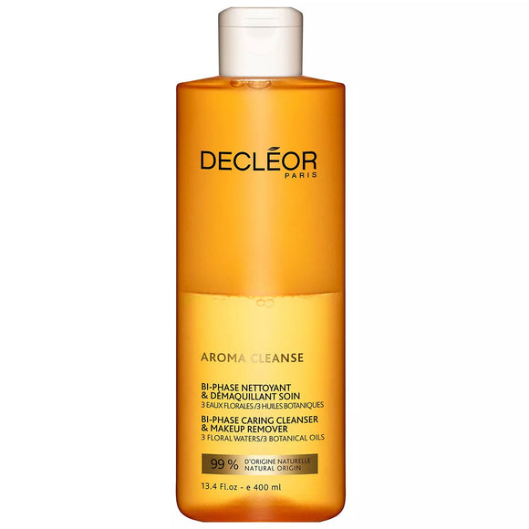 Decleor Aroma Cleanse Bi Phase Caring Cleanser And Makeup Remover 200ml - The Golden Galleria