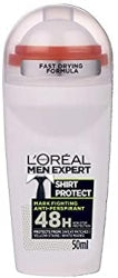 L'Oreal Men Expert Shirt Protect Deodorant Roll On 50ml - The Golden Galleria