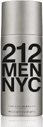 Carolina Herrera 212 Men Deodorant Spray 150ml - The Golden Galleria