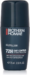 Biotherm Homme Day Control Roll On Deodorant 72H Anti Transpirant 75ml - The Golden Galleria