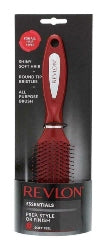 Revlon Tunnel Vent Hair Brush   Red - The Golden Galleria