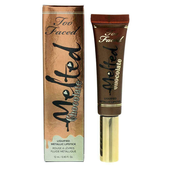 Too Faced Melted Chocolate Liquid Lipstick 12ml - The Golden Galleria